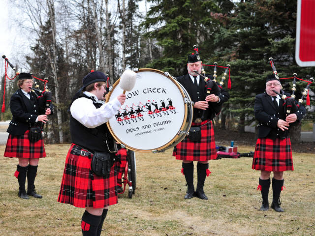 Crow Creek Pipes and Drums - Crow Creek Photo Gallery